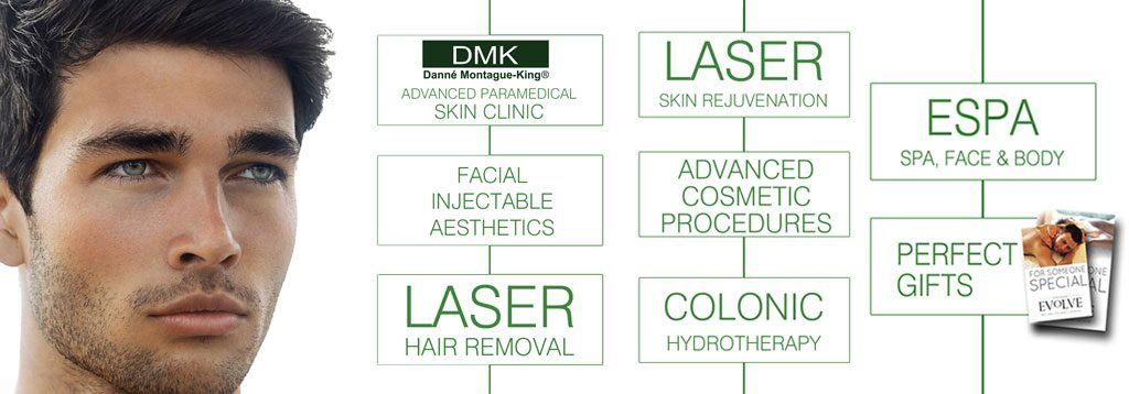 Mensskincare, spa, aesthetics and hair removal treatments