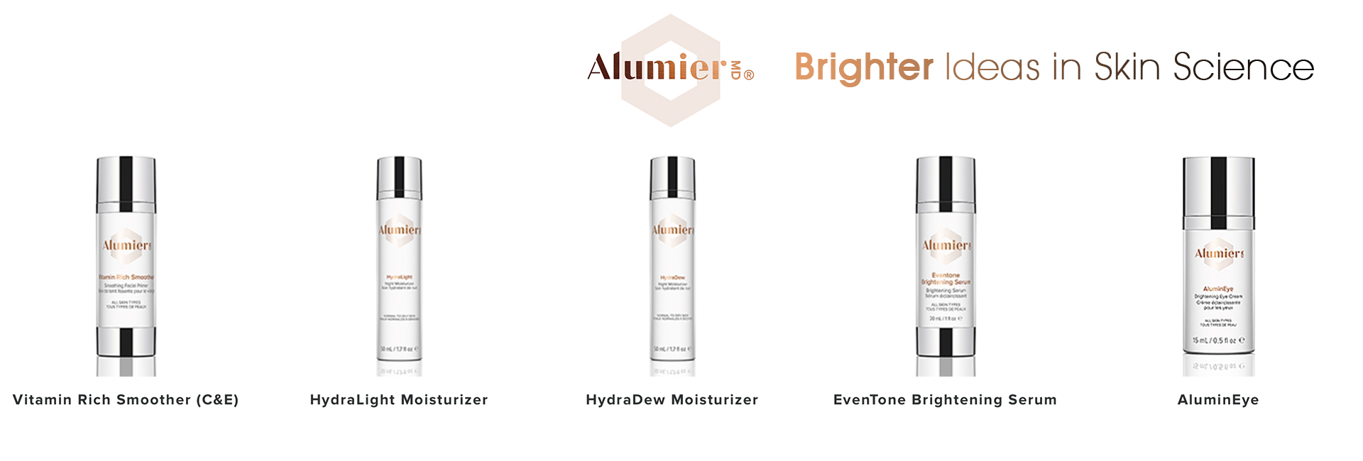 Alumier MD products
