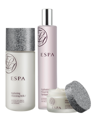 ESPA skincare and massage products