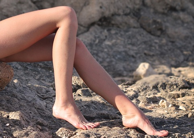 no more unwanted hair on legs with laser hair removal