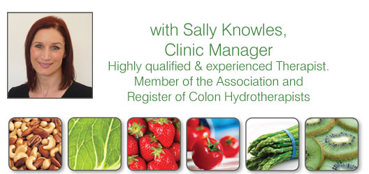 Sally Knowles Colonic Hydrotherapy