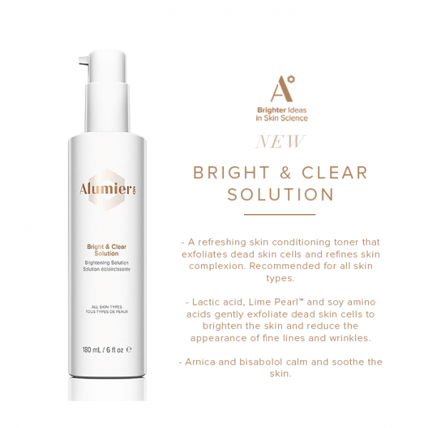 Alumier MD bright & clear solution toner