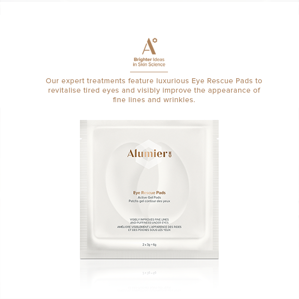 Alumier MD eye rescue pads