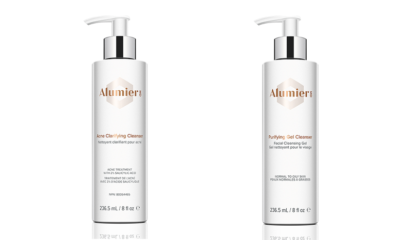 AlumierMD Acne Clarifying Cleanser and Purifying Gel Cleanser